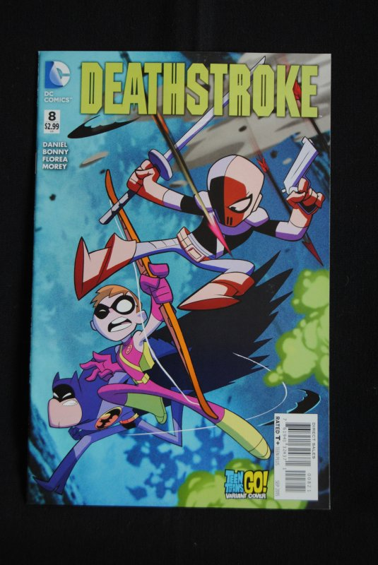 Deathstroke, #8, Teens Titan Go Variant Cover, NM