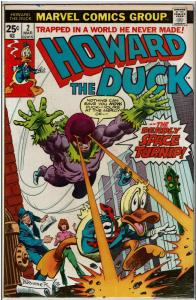 Howard the Duck #2, 7.0 or Better (1st Series)