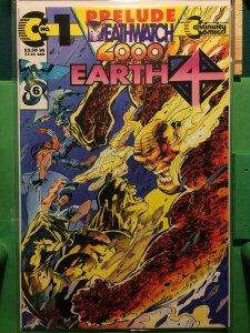 Earth 4 Deathwatch 2000 #0 embossed cover