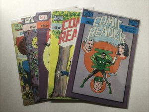 Comics Reader 205 206 207 208 209 Lot Run Set Vf-Nm Street Enterprises