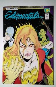 Elementals #25 (1988) Comico Comic Book J756