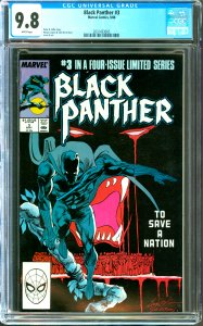 Black Panther #3 CGC Graded 9.8