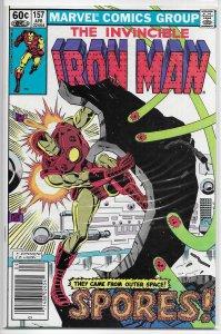 Iron Man   vol. 1  #157 FN