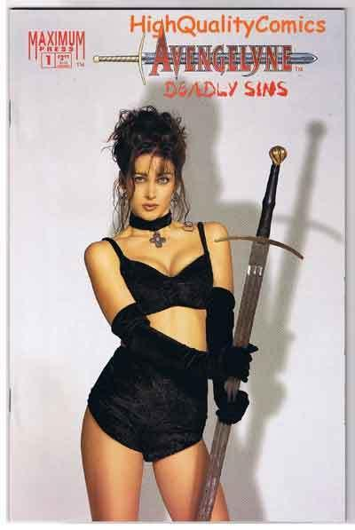AVENGELYNE DEADLY SINS #1, NM+, Photo, Good Girl, 1995, more in store