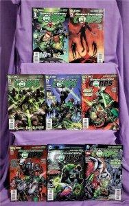 DC New 52 GREEN LANTERN CORPS #1 - 8 Peter J Tomasi Fernando Pasarin (DC, 2011)!