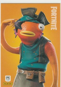 Fortnite Fishstick 187 Rare Outfit Panini 2019 trading card series 1