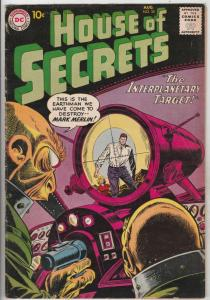 House of Secrets #35 (Aug-60) FN/VF Mid-High-Grade Mark Merlin