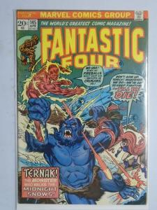 Fantastic Four (1st Series) #145, 5.5 (1974) Nightmare in the Snow!