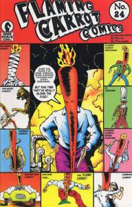 Flaming Carrot Comics #24 FN; Dark Horse   save on shipping - details inside