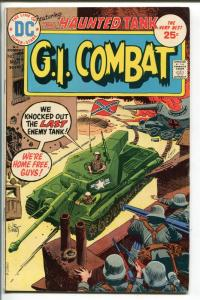 G.I. COMBAT #176 1975-DC-THE HAUNTED TANK-JOE KUBERT COVER--fn