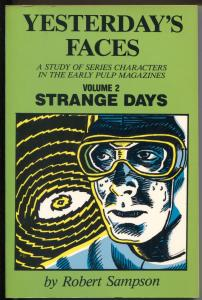 Yesterdays Faces Vol. 2 1984-study of early pulp mag characters-autograph-FN
