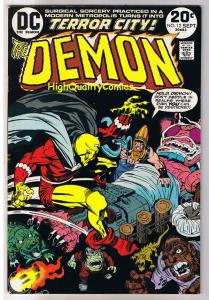 DEMON #12, VF+, Jack Kirby, 4th World, Etrigan, 1972, more JK in store