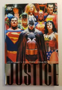 JUSTICE VOLUME 1 HARD COVER GRAPHIC NOVEL ALEX ROSS