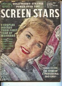 Screen Stars-Debbie Reynolds-Connie Stevens-Elvis-Dec-1961