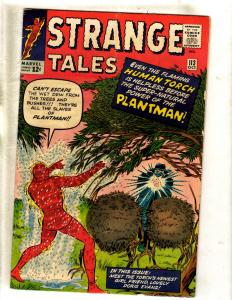 Strange Tales # 113 FN Marvel Comic Book Human Torch Fantastic Four Thing FM2