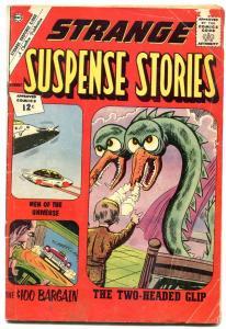 Strange Suspense Stories #60 1962-Flying Saucer cover- Charlton G/VG