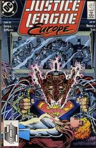 DC JUSTICE LEAGUE EUROPE #9 FN