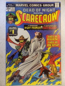 DEAD OF NIGHT # 11 MARVEL BRONZE HORROR FIRST SCARECROW