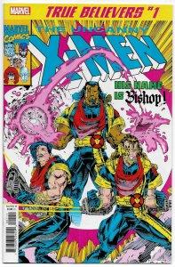 True Believers X-Men Bishop #1 Reprints Uncanny X-Men #282 (Marvel, 2019) NM