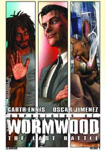 Chronicles of Wormwood: The Last Battle HC #1 VF/NM; Avatar | save on shippi