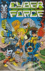 Cyber Force (Vol. 4) #1E VF/NM; Image | save on shipping - details inside