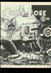 COMIC LORE FANZINE #1 1967-HOUSTONCON-ROMITA-EARL BLAIR FN