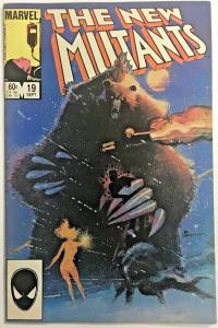 NEW MUTANTS#19 FN/VF 1984 MARVEL COMICS
