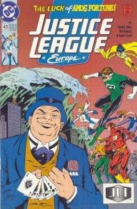 Justice League Europe #43, NM (Stock photo)