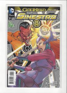 Sinestro #7 DC Comics New 52 Godhead NM/M