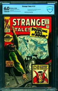 Strange Tales #131 CBCS FN 6.0 Off White to White