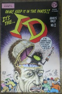 ID #2 by R. CRUMB F-VF. Rare Sketchbook drawings by the Underground master