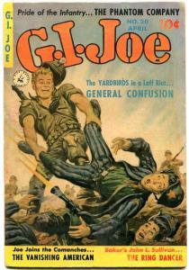 GI JOE #20 1953-COMMUNISTS-ZIFF DAVIS-NORN SAUNDERS CVR FN