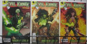 EVIL ERNIE(2012) ORIGIN OF EVIL! DYNAMITE COMICS! THREE COVERS!