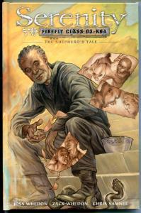 SERENITY FIREFLY - SHEPHERD'S TALE hc, NM, hardcover book, 2010, unread, Whedon