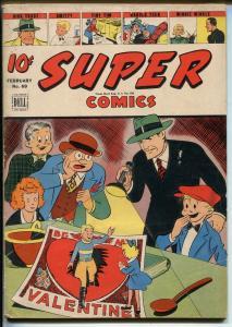 Super #69 1944-Dell-Valentines Day-Dick Tracy-Moon Mullins-Brenda Starr-VG MINUS