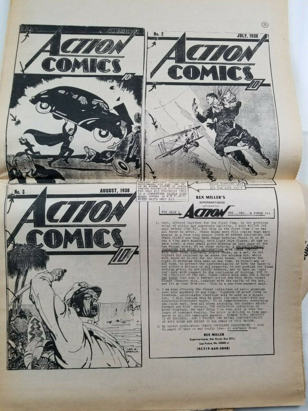 Buyers Guide For Comic Fandom #302 Aug 1979 Alan Light - Brian Hayes Cover - EX