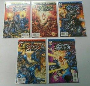 Marvel Knights Ghost Rider comic run:#1-5 Near Mint (2001)