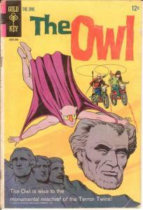 OWL (1967-1968 GK)   2 VG 1968 COMICS BOOK