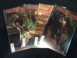 Dark Horse Stranger Things #1, 2, 3, 4 PHOTO VARIANT COVERS