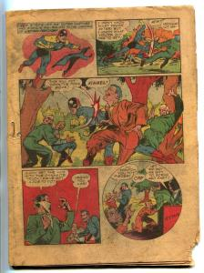 Speed #27 1943- BLACK CAT- Hitler appears- INCOMPLETE