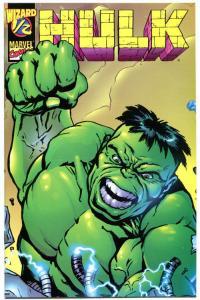 HULK #1/2, NM, Wizard Mail away, 1998, Smash, Paul Lee, Madder = Stronger