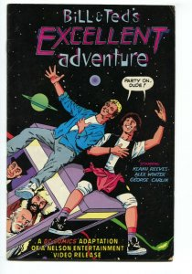 Bill and Ted's Excellent Adventure nn 1989 RARE Mail order exclusive DC comic