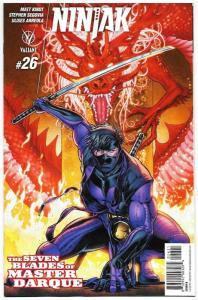 Ninjak #26 Cvr B (Valiant, 2017) NM