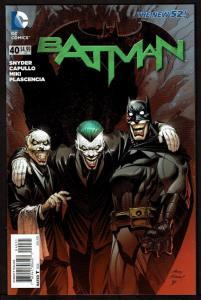 Batman #40 (June 2015, DC) New 52 1:25 Adam Kubert variant 9.4 NM