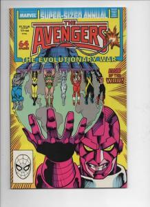 AVENGERS #17 Annual, VF/NM, Hulk, Evolutionary War, Captain America, 1988