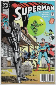 Superman (vol. 2, 1987) # 46 VG/FN Ordway/Jurgens, Terra-Man, Jade