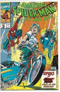 The Amazing Spider-Man: Hit and Run! #3 (1992) FN-VF