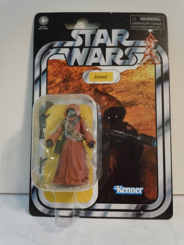 Star Wars The Vintage Collection A New Hope Jawa Toy, 3.75-inch Scale Action Fig
