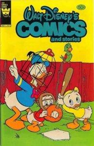 Walt Disney's Comics and Stories #488, Fine- (Stock photo)