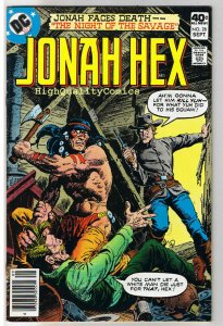 JONAH HEX #28, VF, Night of the Savage, Scar, 1977, more JH in store